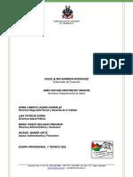 Documento Tecnico Plan Financiero 2016-2019 4.0