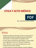 Aspectos Eticos y Legales Del Acto Medico