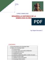Desarrollo Historico de La Sismologia Global