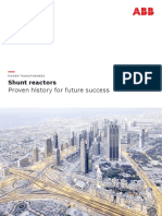 Shunt Reactors Brochure