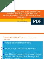 3. Pengembangan Obat Senyawa Penuntun - Rancangan Obat Rasional