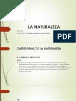 LA NATURALEZA Diapositivas
