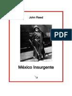 Reed John Mexico Insurgente 168pag