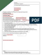 2. Formulir Pendaftaran Seminar Proposal Tesis
