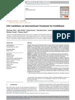EAU Guidelines on Interventional Treatment for Urolitiasis