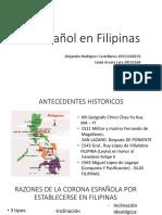 El Español en Filipinas
