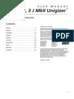 1, 2, 3 J Mk II Unigizer™ User Manual_1