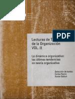 Mary Reis Louis. Las organizaciones  como ámbitos de producción cultural (Lec. Teo. Org. V.II)