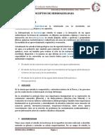 Conceptos Hidrologia General