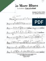 No More Blues(Alessi) Trombone 1