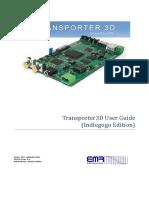 Transporter3D User Guide - Indiegogo Edition v0.6
