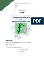 Oxigenoterapia Nebulizacion
