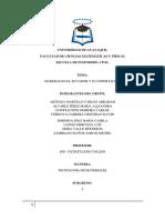 Madera en el Ecuador Tecnologia de materiales prof
