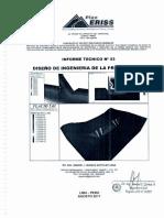 Tercer Infrome Diseño Presa Quisco