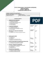 A Programa Planeacion y Control Financiero -7 Cuatri - Contaduria
