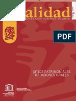 UNESCO_Sitios patrimoniales, tradiciones orales.pdf