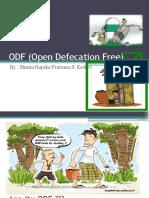 ODF (Open Defecation Free)
