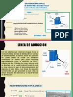 Linea de Aduccion Expo