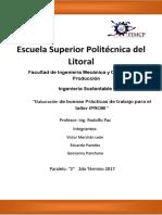 Proyecto IP Ingeniería Sustentable