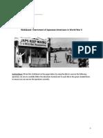 webquest japanese american internment
