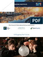 ECIS Future of Admissions