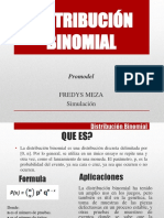Distribución Binomial Final