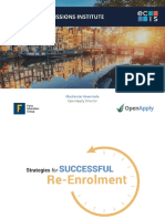 Successfully Managing Re-Enrollment