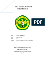 MODUL II LAPORAN RENCANA PRAKTIKUM SISTEM DIGITAL.docx