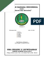 Kaper SMAN 2 Leuwidamar Makalah Majas