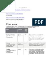 Ket Cambridge Exam Format (1)