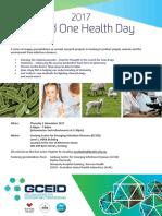 World One Health Day 2017