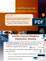 Report on the Satellite Anomaly Mitgation Meeting NOAA
