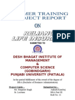 14686844 Reliance Life Insurance