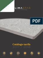 201710 Climastar Catálogo Tarifa 2017-18