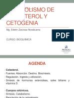 CLASE 10 (Colesterol y Cetona)