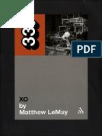 Elliott Smith XO by Lemay Matthew