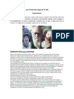 Las Teorías del origen de la vida.docx