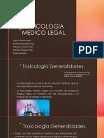 Toxicologia Medico Legal