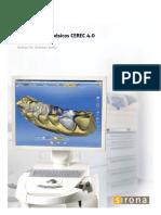 Conocimientos básicos CEREC 4.0