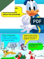 Bab 12 Faktor Yang Mempengaruhi Kegiatan Ekonomi