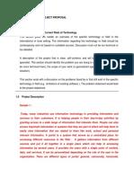 Sad Proposal 2017 Title Sample Content
