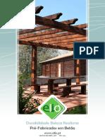 Catálogo Elió - Mobiliário Jardim