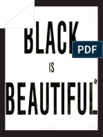 BLACK IS BEAUTIFUL (material adjunto-tesis doctoral)