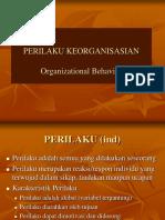 1. Konsep Dasar Perilaku Keorganisasian