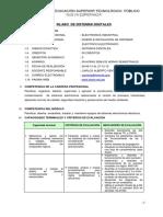Silabo de Sistemas Digitales 2013 - II