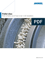 Fb Pellet Dies and Roll Shells en Data