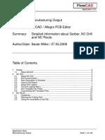 FlowCAD an PCB Manufacturing