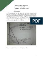 Materi Kuliah Statistika Pertemuan 3