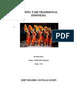 Kliping Tari Tradisional Indonesia