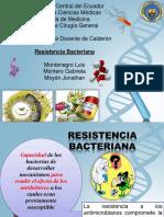 Resistencia Bacteriana1